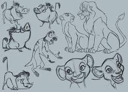 lion king sketches by 93hotaru on deviantart