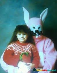 bunny easter 19 vintage easter bunny photos that will make your skin crawl