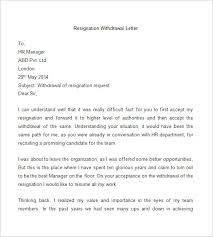exles of resignations letters withdrawal letter pdf 28 images 622653734404 employee