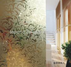 Decorative Glass Wall Panels Decorative Glass Partitions Home Swan Song Partitions Pony Wall