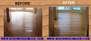 restore wood floor wornwoodmagic