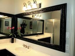 black framed bathroom mirrors black frame mirrors for bathroom useful reviews of shower stalls