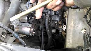 honda car starter how to replace your car starter motor 2005 to 2010 honda odyssey