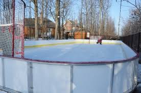 Backyard Rink Ideas Rink Boards Residential Bandes Residentielle Jpg