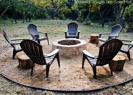 Diy Backyard Fire Pit Ideas How To Build A Firepit For Your Outdoor Space Scattered Thoughts