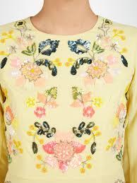 Summer Garden Dresses - needle u0026 thread summer garden dress in yellow lyst