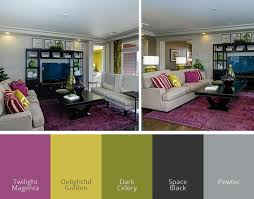 bold living room colors northern colorado homes with amazing color palettes get the look