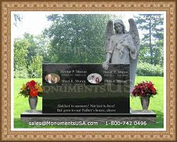 how much does a headstone cost guardian angel tombstones guardian and angel