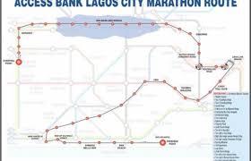 lagos city map security advisory in view of lagos city marathon on february 6