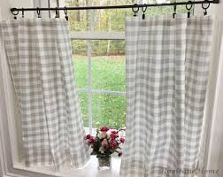 White Cafe Curtains Cafe Curtains Etsy