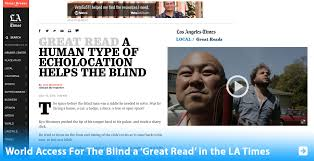 Echolocation For The Blind Ryo Hirosawa World Access For The Blind
