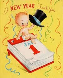 new year s greeting cards vintage new year s greeting card happy new year to