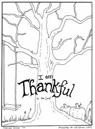 thankful tree coloring