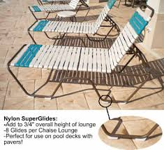 Patio Furniture Feet Inserts by Nylon Super Glides For Patio Chaise Lounges A U0026k Enterprise
