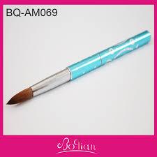 online buy wholesale acrylic nail brush kolinsky oval from china
