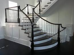 Staircase Banister Wooden Baluster Custom Stairs Artistic Stairs