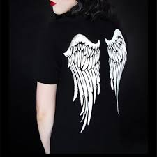 neck wing tattoos white wing tattoo reviews online shopping white wing tattoo
