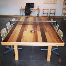 Table Tennis Boardroom Table Small Conference Room Table With Ping Pong Conversion Two Birds