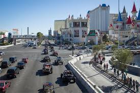 Las Vegas Traffic Map Mint 400