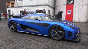 koenigsegg blue interior 4k koenigsegg one 1 cold revs in matte blue outside geneva salon