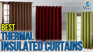 8 best thermal insulated curtains 2017 youtube