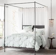 Iron Canopy Bed Frame Caleigh Iron Canopy Bed