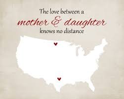 gift for mom mother u0027s day grandma long distance map