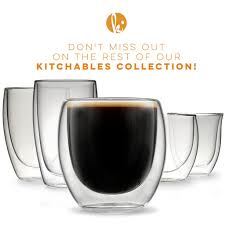 double wall espresso cups shot glasses u2013 kitchables