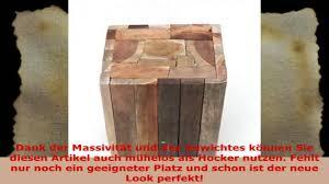 beistelltische echtholz beistelltisch couchtisch tisch holz treibholz hocker massiv schwer