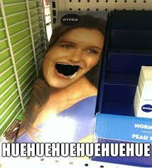 Huehuehue Meme - nivea care