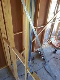 component wiring in homes service cavities for wiring and