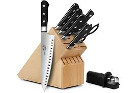 mac kitchen knives mac professional knife block set 9 beechwood cutlery and more