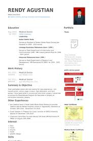 Work Experience In Resume Sample by Medical Doctor Resume Samples Visualcv Resume Samples Database