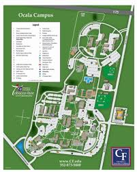 Driving Map Of Florida by Ocala Campus Map