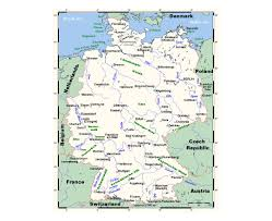 Maps Of Germany by Maps Of Germany Detailed Map Of Germany In English Tourist Map
