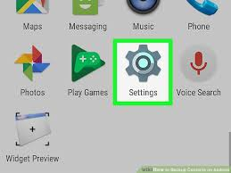 how to backup contacts on android how to backup contacts on android with pictures wikihow