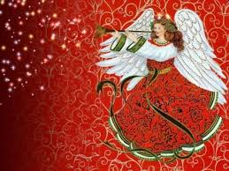 christmas angel christmas angel abstract background wallpapers on