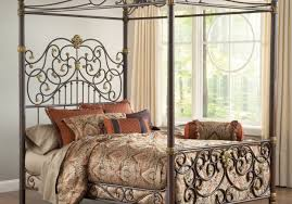 bed laudable white metal canopy bed twin startling bernhardt
