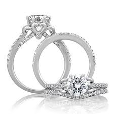 love shaped rings images Heart shaped engagement rings brides jpg