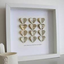 paper anniversary paper wedding anniversary gifts personalised made in words