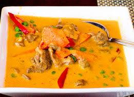 la cuisine thailandaise agneau au curry cuisine thailandaise des centaines de