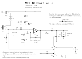 guitar effects schematics u0026 projects