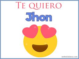 imagenes que digan te amo jhon te quiero jhon gif de amor
