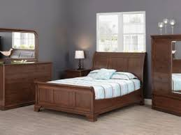 Sleigh Bed Bedroom Set Handmade Sleigh Beds Countryside Amish Furniture