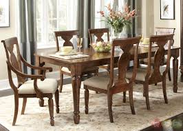 unique design formal dining table set rustic cherry rectangular