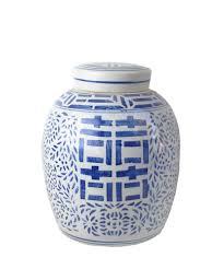 ginger jar vintage blue u0026 white porcelain ginger jar u2013 high street market