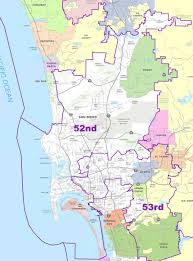 Map Of San Diego County by 52nd District Scott Peters For Congress