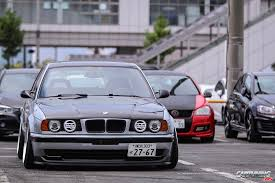 bmw e34 stance stance bmw 530i touring e34 front