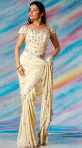 corset blouse crepe designer saree with corset blouse sareetimes