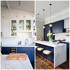 white kitchen cabinets with blue tiles 4 ways to use navy blue in your kitchen big chill